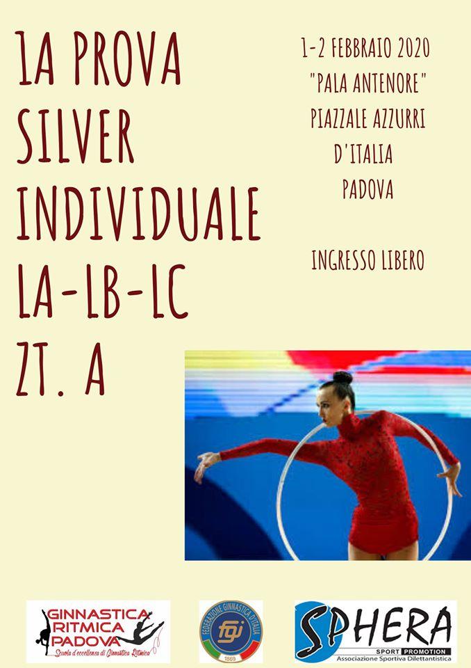 1° PROVA CAMPIONATO INDIVIDUALE SILVER LA-LB-LC GR Zona Tecnica A.