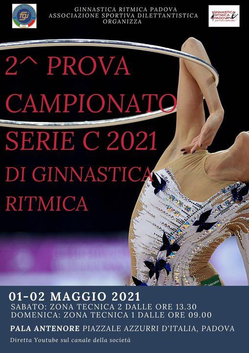 2^ Prova del Campionato di Serie 'C' Ginnastica Ritmica
